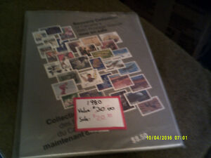Stamps - Canada Annual Collections 1980 - 1985