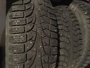 pirelli winter tires on rims 235/60R16