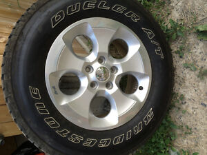 Jeep Wrangler tires and rim new