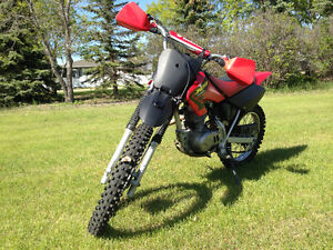 2002 Honda 100cc dirt bike for sale.