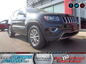 Jeep Grand Cherokee Limited | 4x4 | Leather | Moonroof | Bluetoo