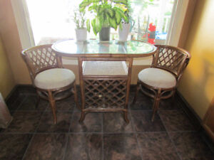 Vintage 3Pc. Table & Chairs