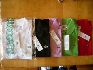 POLO LACOSTE POUR FEMMES MADE IN PERU