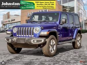 2018 Jeep Wrangler Unlimited Sahara 4x4  - Navigation - $158.92