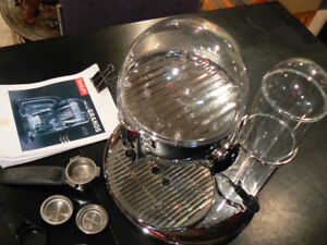 Bodum Stainless Steel Glass Espresso/Cappuchino Maker