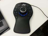 3D mouse (SpaceMouse Pro)