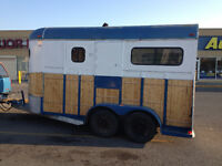 toy hauler....construction trailer  16 foot