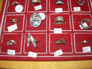 Large Selection of 925 Silver Rings Cambridge Kitchener Area image 4