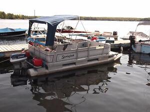 16 ft.Springbok on trailer - all setup for fishing Peterborough Peterborough Area image 6
