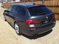 2015 65 BMW 5 SERIES 3.0 530D M SPORT TOURING 5D AUTO PRO NAV, DAB, ££££S EXTRAS