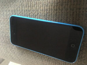 iPhone 5c 8g.  Blue .