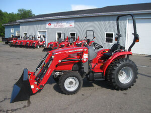 1 DAY SALE ONLY - Massey Ferguson 39hp Tractor & Loader LEFTOVER