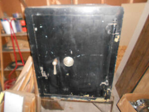 Antique Cary Floor Safe