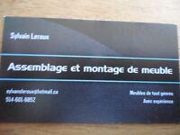 ASSEMBLAGE MONTAGE DE MEUBLE