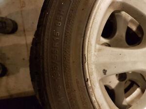 Hyundai winter tires and rims Regina Regina Area image 3