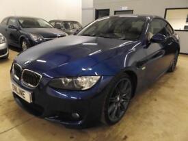 BMW 3 SERIES 330D M SPORT Blue Auto Diesel, 2008