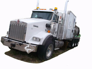 2014 KENWORTH T800 TRI DRIVE COMBO VACCash/ trade/ lease to own