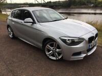 2015 15 BMW 1 SERIES 2.0 116D M SPORT 5D AUTO 114 BHP DIESEL