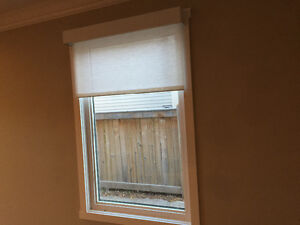 Remote controlled roller blinds/fabrics included! Strathcona County Edmonton Area image 4
