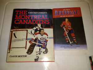 Montreal Canadians books x2