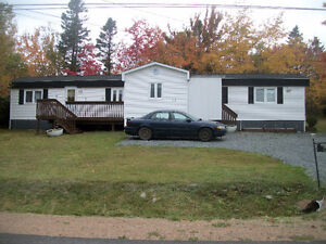 MINI-HOME ON LAND PLUS  additional building lot