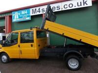 Ford Transit 350 Double Cab One Stop Tipper 140 Psi