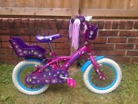 Childrens/kids 'puppy' bike- never used!