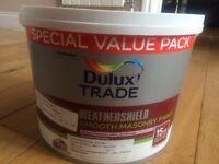 Dulux Weathershield Smooth Masonry paint 7.5litre