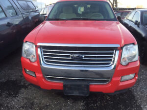 2008 4.0L 4X4 RED FORD EXPLORER FOR PARTS