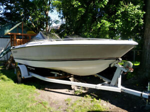 GM Engine, Merc Outdrive, Trailer, Boat Hull