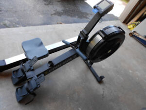 Concept 2 model D with PM3 rowing machine