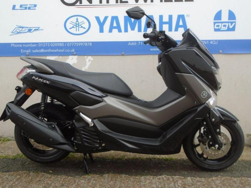 2017 yamaha nmax 125 abs midnight black brand new in brighton east sussex gumtree. Black Bedroom Furniture Sets. Home Design Ideas