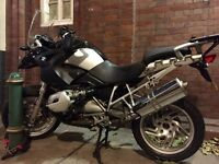 2007 (57) BMW R1200 GS with extras. Bargain price.