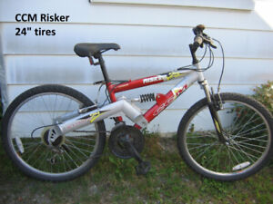 CCM Risker D S  mountain bicycle