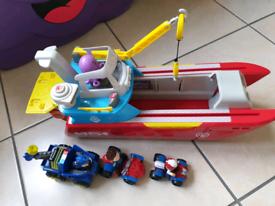 Paw Patrol Boat