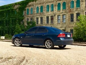 Blue Saab 9-3 Stratford Kitchener Area image 1