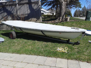 Laser with standard race rig - excellent condition