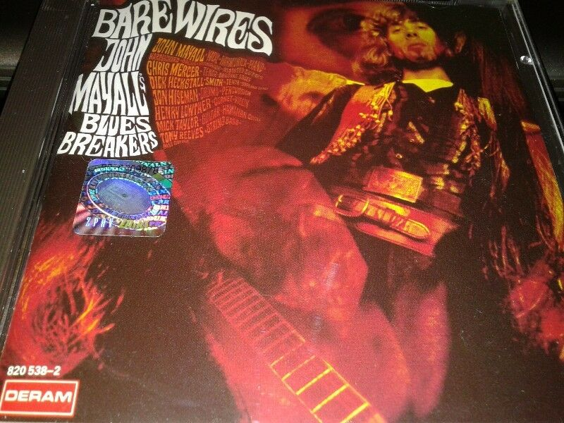 John Mayall - Bare Wires,68,cd