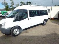 Ford TRANSIT 115 T350 15 seater mini bus 3.5tonne 2011