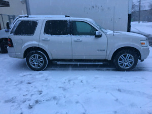 2007 ford explorer limited 4x4 fully loaded dvd 7 seats