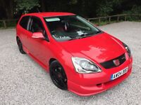 ***CIVIC TYPE R EP3 FACELIFT***FSH***LOW MILES**2004**IMMACULATE CONDITION**NO COLOUR FADES**