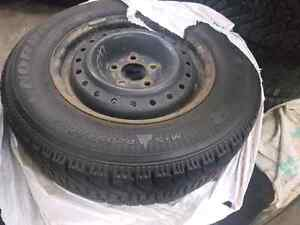 Rims and tires off crv 205 70 15 winters