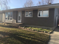 House For Rent In Lanigan With Large Insulated Garage