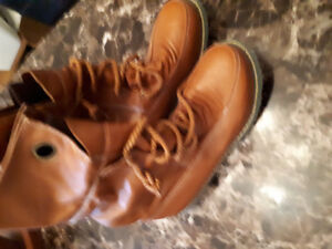 Military boots never worn