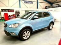 2014 SSANYONG KORANDO 2.0 DIESEL ES - TOP SPECIFICATION - ONLY 50,000 MILES !!