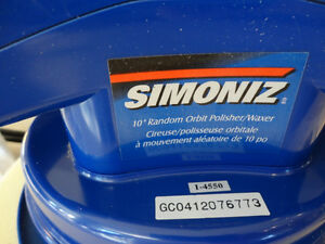 "Like New Simoniz 10"" Random Orbit Car Polisher Waxer Kitchener / Waterloo Kitchener Area image 2"
