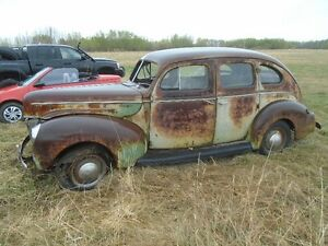 1940 Ford 4 Door Very Complete Flat Head Full Drivetrain
