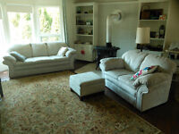 couch, loveseat -
