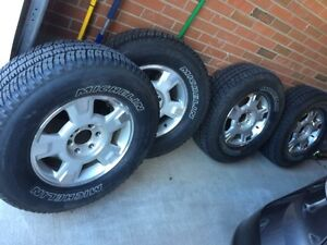 F150 OEM Rims with Michelin LTX A/S2