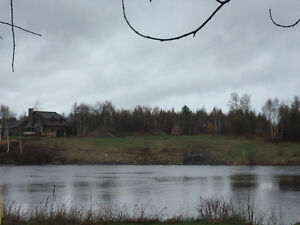 Beautiful and rare waterfront lot on low Sturgeon river